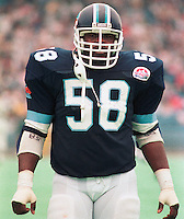 Earl Wilson Toronto Argonauts 1984. Photo Scott Grant