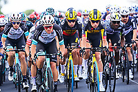 1st July 2021; Chateauroux, France;  VAN AERT Wout (BEL) of JUMBO-VISMA and TEUNISSEN Mike (NED) of JUMBO-VISMA during stage 6 of the 108th edition of the 2021 Tour de France cycling race, a stage of 160,6 kms between Tours and Chateauroux on July 1