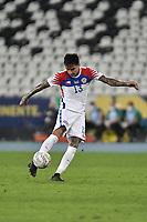 2nd July 2021; Nilton Santos Stadium, Rio de Janeiro, Brazil; Copa America, Brazil versus Chile; Erick Pulgar of Chile