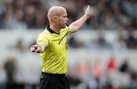 LOS ANGELES, CA - MARCH 01: Referee Allen Chapman during a game between Inter Miami CF and Los Angeles FC at Banc of California Stadium on March 01, 2020 in Los Angeles, California.