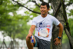 Runners compete at the Wings for Life World Run on May 2, 2015 in Yilan, Taiwan. Photo by Aitor Alcalde / Power Sport Images