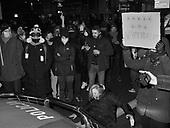 Warsaw 29.01.2021 Poland<br /> Third night of protests on the Warsaw streets after new publication by the Constitutional Court in Poland making abortion in case of severely damaged foetus illegal. <br /> Photo: Adam Lach<br /> <br /> Protesty na ulicach Warszawy w zwiazku z opublikowaniem przez Trybunal Konstytucyjny po 98 dniach uzasadnienia wyroku, ktore delegalizuje aborcje w przypadku ciezkiego uszkodzenia plodu.<br /> Fot: Adam Lach