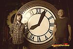 Christopher Lloyd and Clock