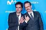 Ernesto Sevilla and Joaquin Reyes attends to blue carpet of presentation of new schedule of Movistar+ at Queen Sofia Museum in Madrid, Spain. September 12, 2018. (ALTERPHOTOS/Borja B.Hojas)