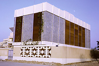 Kuwait August 1968.  A Modern Kuwaiti House Constructed in the 1960s.