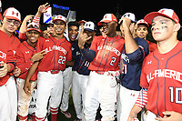TEMPORARY UNEDITED FILE:  Image may appear lighter/darker than final edit - all images cropped to best fit print size.  <br /> <br /> Under Armour All-American Game presented by Baseball Factory on July 20, 2018 at Wrigley Field in Chicago, Illinois.  (Mike Janes/Four Seam Images)