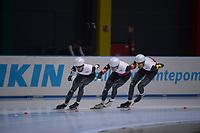 SPEEDSKATING: 24-11-2019 Tomaszów Mazowiecki (POL), ISU World Cup Arena Lodowa, Team Pursuit Men Division B (POL), ©photo Martin de Jong