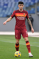 Roger Ibanez of AS Roma in action during the Serie A football match between AS Roma and FC Internazionale at Olimpico stadium in Roma (Italy), January 10th, 2021. Photo Andrea Staccioli / Insidefoto