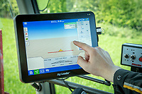 Sprayer GPS spary control panel - Norfolk, May