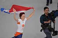 OLYMPIC GAMES: PYEONGCHANG: 14-02-2018, Gangneung Oval, Long Track, 1000m Ladies, Final result, Olympic Champion Jorien ter Mors (NED), ©photo Martin de Jong