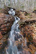 Halfway Brook in Hart's Location, New Hampshire during the spring months. This brook is off the Nancy Pond Trail.