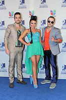 MIAMI, FL- July 19, 2012:  DaZoo backstage at the 2012 Premios Juventud at The Bank United Center in Miami, Florida. ©Majo Grossi/MediaPunch Inc. /*NORTEPHOTO.com* **SOLO*VENTA*EN*MEXICO** **CREDITO*OBLIGATORIO** *No*Venta*A*Terceros* *No*Sale*So*third* ***No*Se*Permite*Hacer Archivo***No*Sale*So*third*©Imagenes*
