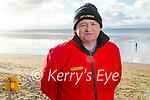 Gearoid Regan from Ballyheigue enjoying a stroll on Ballyheigue beach on New Years Day.