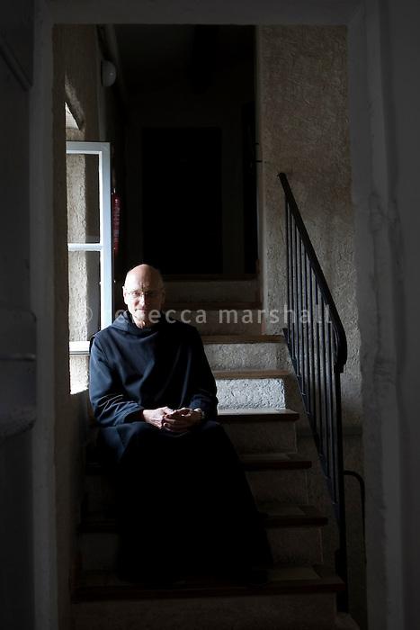 Pere Michel, Ganagobie Monastery, Alpes de Haute Provence, France, 17 July 2009.