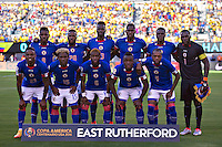 Action photo during the match Ecuador vs Haiti at MetLife Stadium Copa America Centenario 2016. ---Foto  de accion durante el partido Ecuador vs Haiti, En el Estadio MetLife Partido Correspondiante al Grupo - B -  de la Copa America Centenario USA 2016, en la foto: Haiti<br /> -- 12/06/2016/MEXSPORT/Javier Ramirez.