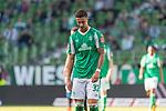 19.09.2020, wohninvest Weserstadion, Bremen, GER,  SV Werder Bremen vs Hertha BSC Berlin, <br /> <br /> <br />  im Bild<br /> <br /> enttäuscht / enttaeuscht / traurig / Niederlage / dissapointed<br /> Marco Friedl (Werder Bremen #32)<br /> Einzelaktion, Halbkörper / Halbkoerper,<br /> <br /> Foto © nordphoto / Kokenge<br /> <br /> DFL regulations prohibit any use of photographs as image sequences and/or quasi-video.