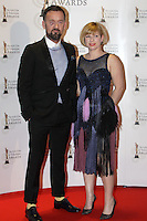 12/2/11 Brendan Courtney and Sonya Lennon on the red carpet at the 8th Irish Film and Television Awards at the Convention centre in Dublin. Picture:Arthur Carron/Collins