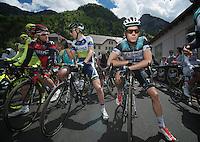 2013 Giro d'Italia.stage 11.Tarvisio - Vajont: 182km..Julien Vermote (BEL)..