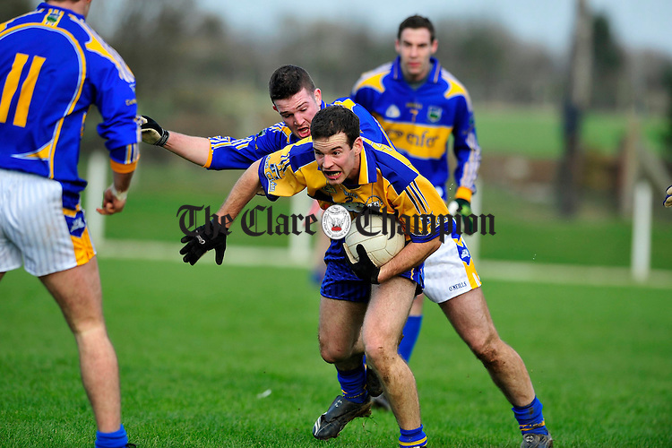 Clare v Tipperary Division 4 Round 2 football league at Ardfinnan co Tipperary.Pic Arthur Ellis...Laurence Healy