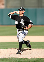John Lujan  -  Chicago White Sox - 2009 spring training.Photo by:  Bill Mitchell/Four Seam Images