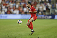 KANSAS CITY, KANSAS - JUNE 26: Daniel Lovitz #16 during a 2019 CONCACAF Gold Cup group D match between the United States and Panama at Children's Mercy Park on June 26, 2019 in Kansas City, Kansas.