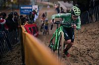 Maud Kaptheijns (NED/Crélan-Charles)<br /> <br /> women's race<br /> CX World Cup Koksijde 2018