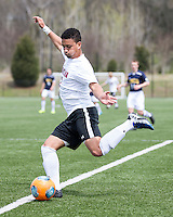 The UNC Greensboro Spartans played the University of South Carolina Gamecocks in The Manchester Cup on April 5, 2014.  The teams played to a 0-0 tie.  Asa Kryst (7)