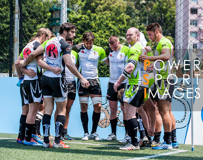 Penguins vs Samurai during day 2 of the 2014 GFI HKFC Tens at the Hong Kong Football Club on 27 March 2014. Photo by Juan Flor / Power Sport Images