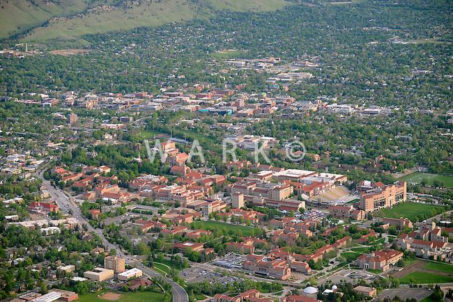 Boulder, Colorado. University of Colorado campus. June 2014