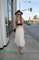 Jezlan Moyet Spotted At Catch In West Hollywood