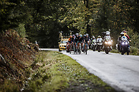 breakaway group<br /> <br /> 4th Liège-Bastogne-Liège-Femmes 2020 (1.WWT)<br /> 1 Day Race: Bastogne – Liège 135km<br /> <br /> <br /> ©kramon