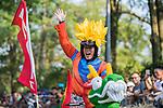 Team 如來佛祖玉皇大帝觀音菩薩指定取西經特派使者花果山水濂洞美猴王齊天大聖孫悟空  in action during the Red Bull Soapbox Race 2017 Taipei at Multipurpose Gymnasium National Taiwan Sport University on 01 October 2017, in Taipei, Taiwan. Photo by Victor Fraile / Power Sport Images