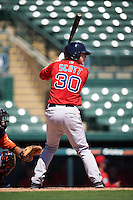Boston Red Sox Ryan Scott (30) during an Instructional League game against the Baltimore Orioles on September 22, 2016 at the Ed Smith Stadium in Sarasota, Florida.  (Mike Janes/Four Seam Images)