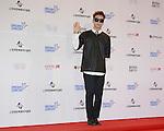 Jjun, Jun 07, 2014 : K-pop singer Jjun poses before the Dream Concert in Seoul, South Korea. (Photo by Lee Jae-Won/AFLO) (SOUTH KOREA)