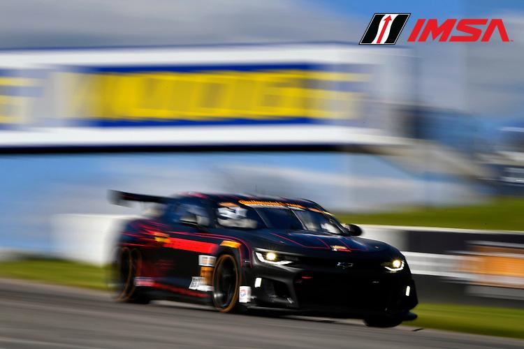 IMSA Continental Tire SportsCar Challenge<br /> Mobil 1 SportsCar Grand Prix<br /> Canadian Tire Motorsport Park<br /> Bowmanville, ON CAN<br /> Saturday 8 July 2017<br /> 57, Chevrolet, Chevrolet Camaro GT4.R, GS, Matt Bell, Robin Liddell<br /> World Copyright: Scott R LePage/LAT Images