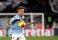 Football, Serie A: S.S. Lazio - Hellas Verona, Olympic stadium, Rome, February 5, 2020. <br /> Lazio's Sergej Milinkovic-Savic in action during the Italian Serie A football match between S.S. Lazio and Hellas Verona at Rome's Olympic stadium, Rome, on February 5, 2020. <br /> UPDATE IMAGES PRESS/Isabella Bonotto