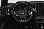 Car pictures of steering wheel view of a 2019 Volvo XC40 R-Design 5 Door SUV Steering Wheel