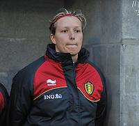 Qualification Women's Euro 2013 - Belgium - Iceland ; Belgie - Ijsland ; Armand Melis Stadion Dessel :.Sophie Mannaert.foto DAVID CATRY / Vrouwenteam.be