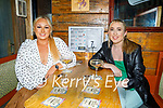 Enjoying the evening the in Sean Og's on Saturday, l to r: Rebecca O'Halloran and Nicole Commerford from Tralee.