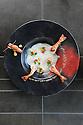 22/11/11 - PONT D ALLEYRAS - HAUTE LOIRE - FRANCE - Etablissement Le Haut Allier. Recette preparee par Philippe Brun, une etoile au Michelin - Photo Jerome CHABANNE
