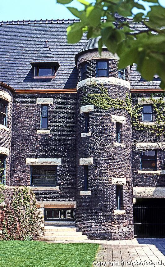 H. H. Richardson: Glessner House, Chicago. Interior Court.