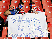 Confused USA football fans ask where the quarterback is
