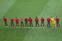 Mannschaft Portugal stellt sich auf<br /> - Muenchen 19.06.2021: Deutschland vs. Portugal, Allianz Arena Muenchen, Euro2020, emonline, emspor, <br /> <br /> Foto: Marc Schueler/Sportpics.de<br /> Nur für journalistische Zwecke. Only for editorial use. (DFL/DFB REGULATIONS PROHIBIT ANY USE OF PHOTOGRAPHS as IMAGE SEQUENCES and/or QUASI-VIDEO)