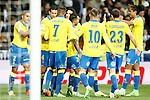 UD Las Palmas' players celebrate goal during La Liga match. March 1,2017. (ALTERPHOTOS/Acero)