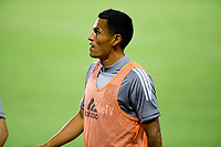 CARSON, CA - SEPTEMBER 06: Andy Najar #24 of LAFC during a game between Los Angeles FC and Los Angeles Galaxy at Dignity Health Sports Park on September 06, 2020 in Carson, California.