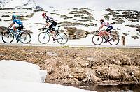 Luis León Sánchez (ESP/Astana - Premier Tech) up the Passo San Bernardino (2065m/SUI)<br /> <br /> 104th Giro d'Italia 2021 (2.UWT)<br /> Stage 20 (through Switzerland) from Verbania to Valle Spluga-Alpe Motta (164km)<br /> <br /> ©kramon