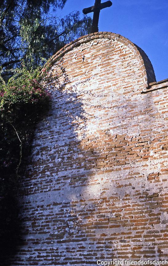 San Juan Capistrano Historic Bells wall, San Juan Capistrano, CA.