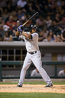 Yorman Rodriguez (20) of the Louisville Bats at bat against the Charlotte Knights at BB&T BallPark on May 12, 2015 in Charlotte, North Carolina.  The Knights defeated the Bats 4-0.  (Brian Westerholt/Four Seam Images)