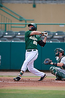 USF Bulls first baseman Joe Genord (20) bats during a game against the Dartmouth Big Green on March 17, 2019 at USF Baseball Stadium in Tampa, Florida.  USF defeated Dartmouth 4-1.  (Mike Janes/Four Seam Images)
