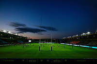 9th September 2020; Twickenham Stoop, London, England; Gallagher Premiership Rugby, London Irish versus Harlequins; General view of the inside of an empty The Stoop stadium captured from a remote camera